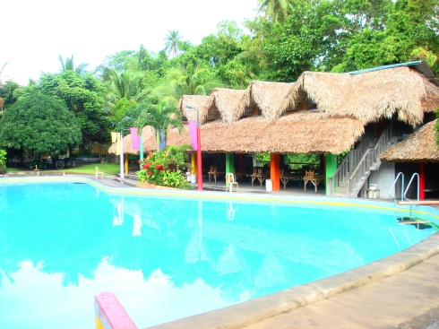 Cottages made of nipa hut.